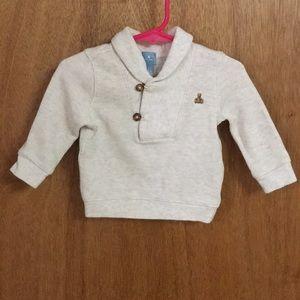 Baby Gap 6-12m cowl collar sweater, exc cond!